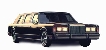 </br></br>Lincoln Town Car Oldtimer Black