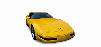Chevrolet Corvette 5.7 V8 Targa Yellow