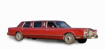 </br></br>Lincoln Town Car Oldtimer Red
